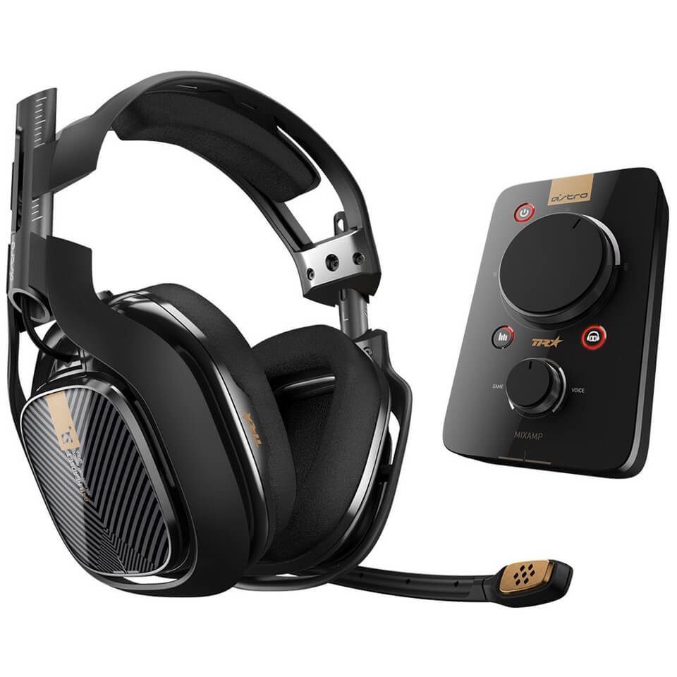ASTRO A40TR Pro Gaming Headset MixAmp Black PS4