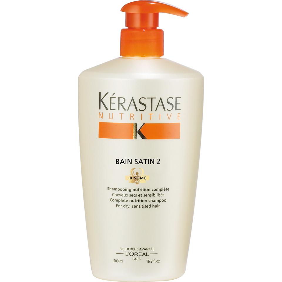 Krastase Nutritive Bain Satin 2 Shampoo 500ml Free