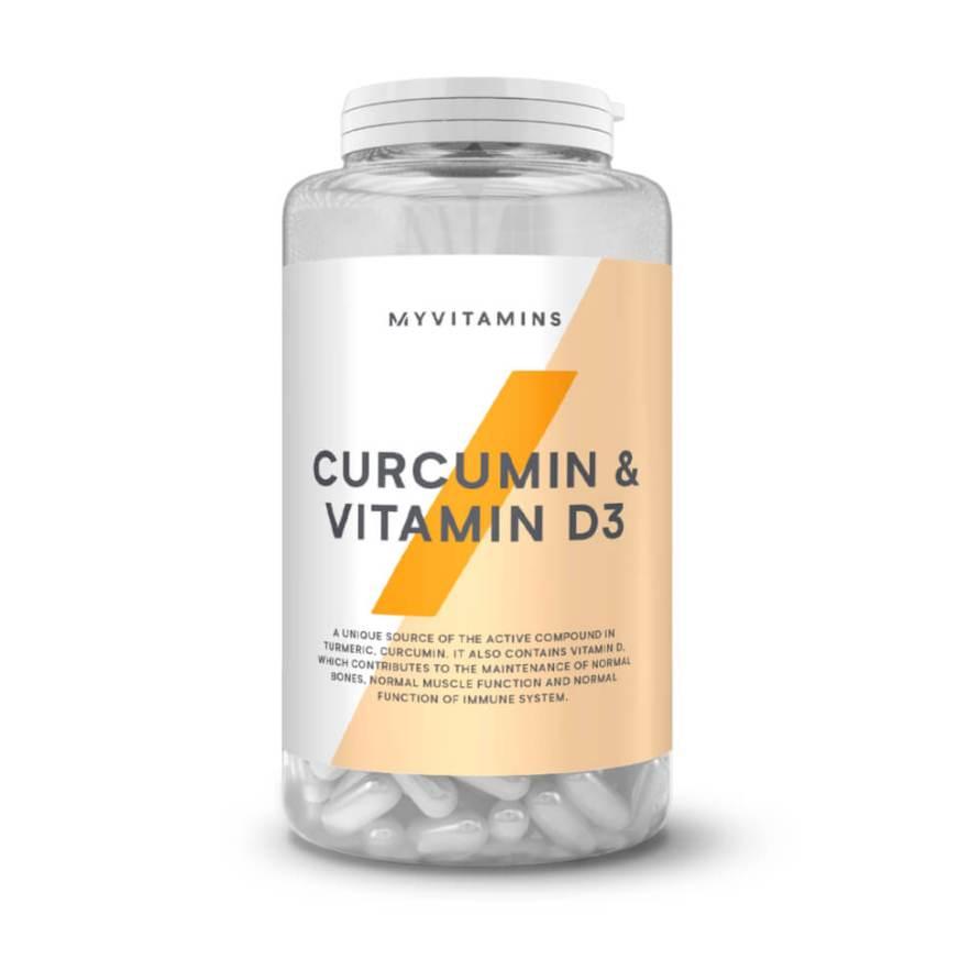 Curcumin & Vitamin D3 Capsules | myvitamins