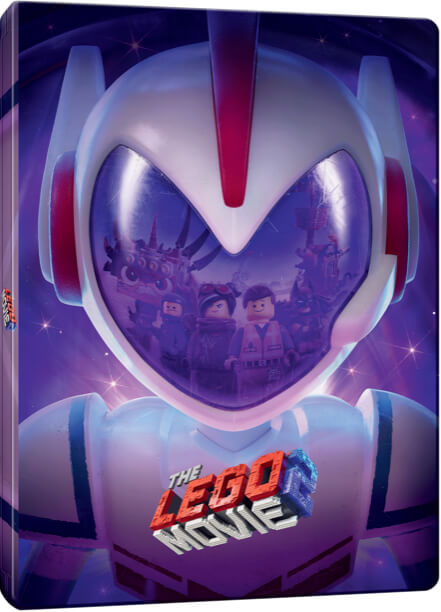 The LEGO Movie 2 3D Includes 2D Version Limited Edition Steelbook Blu Ray Zavvi