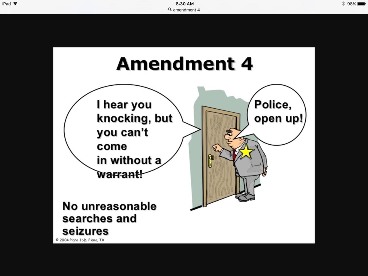 4th Amendment Definition For Kids