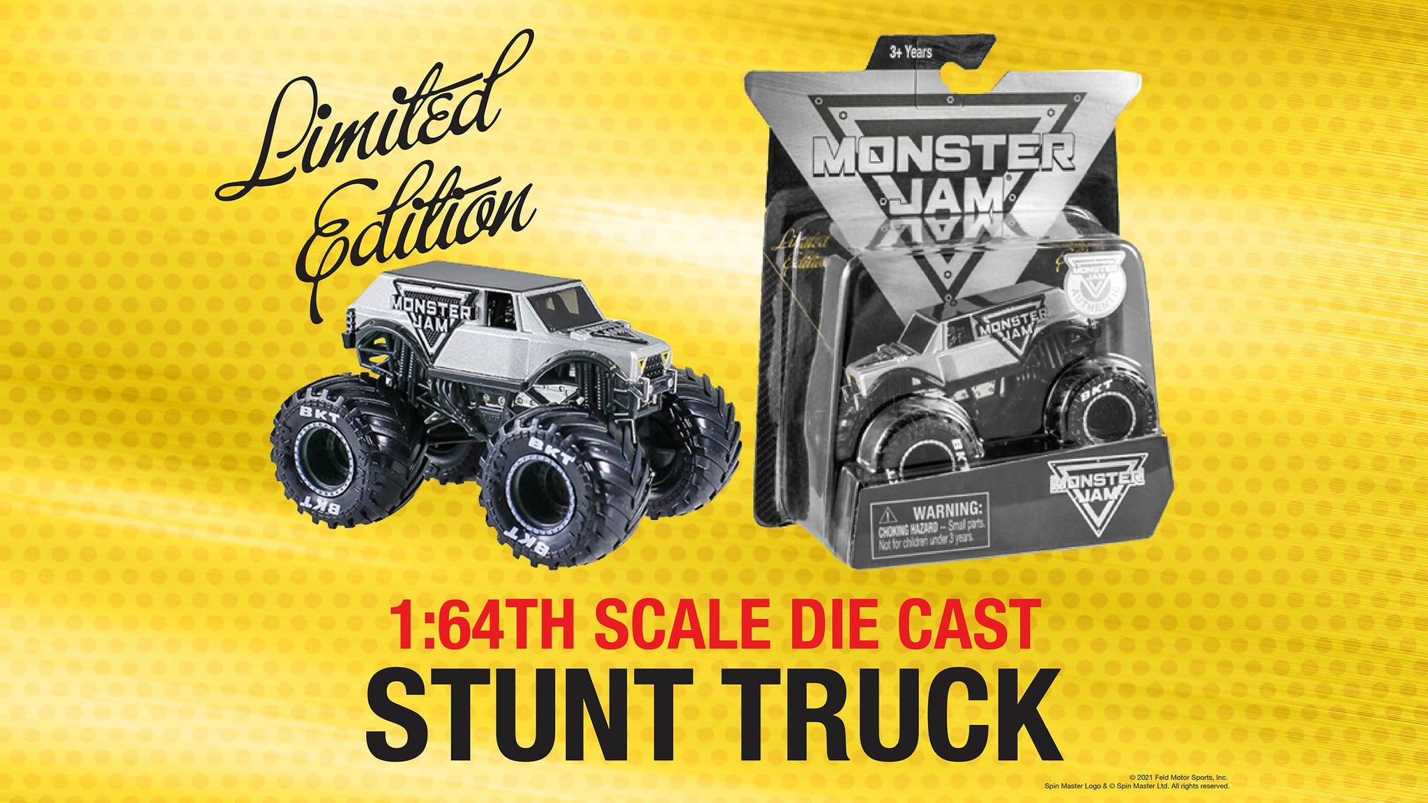 Monster Jam – 1/64th Scale Stunt Truck presale code