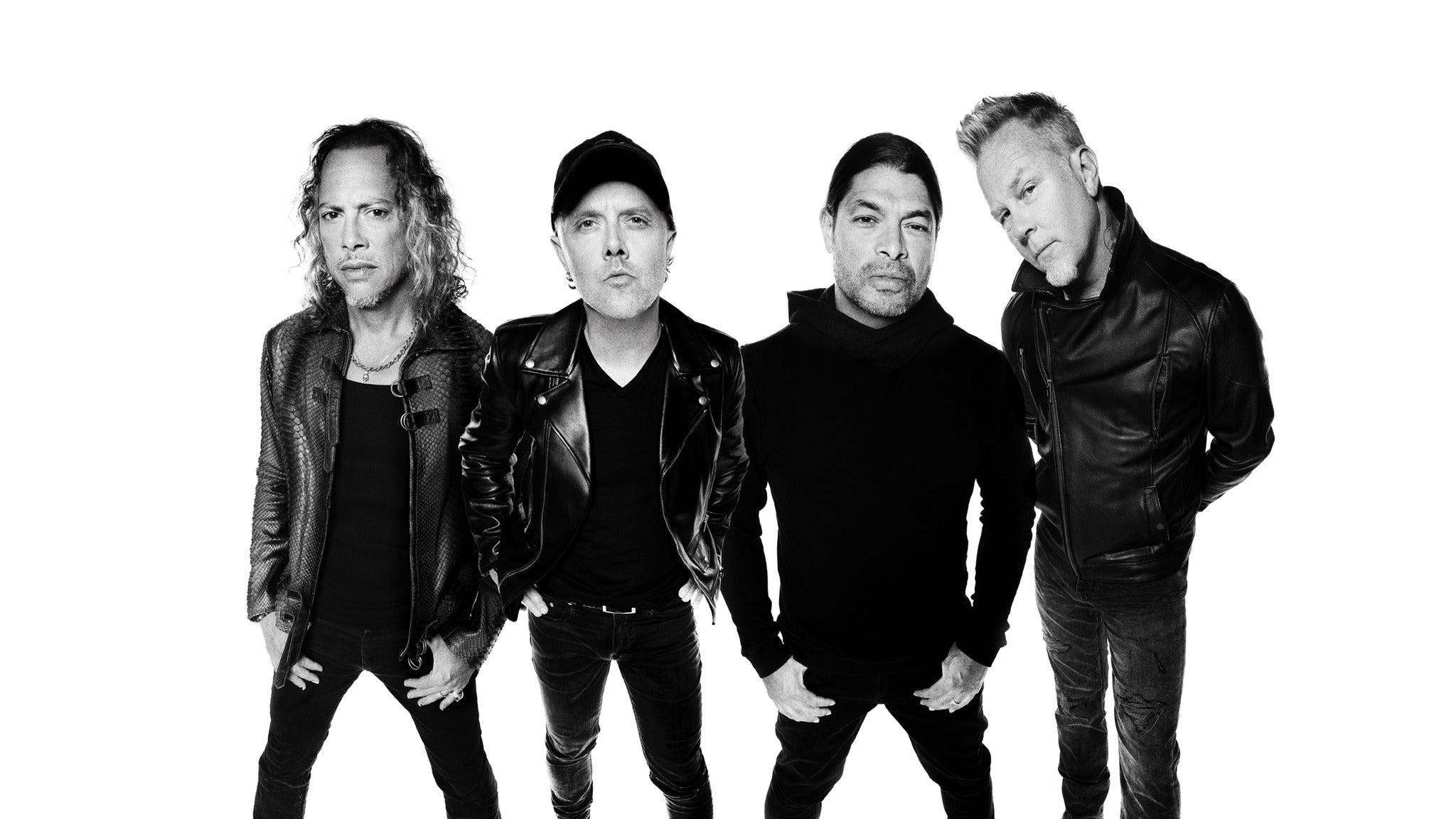 Metallica presale code for concert tickets in Hollywood, FL (Hard Rock Live)