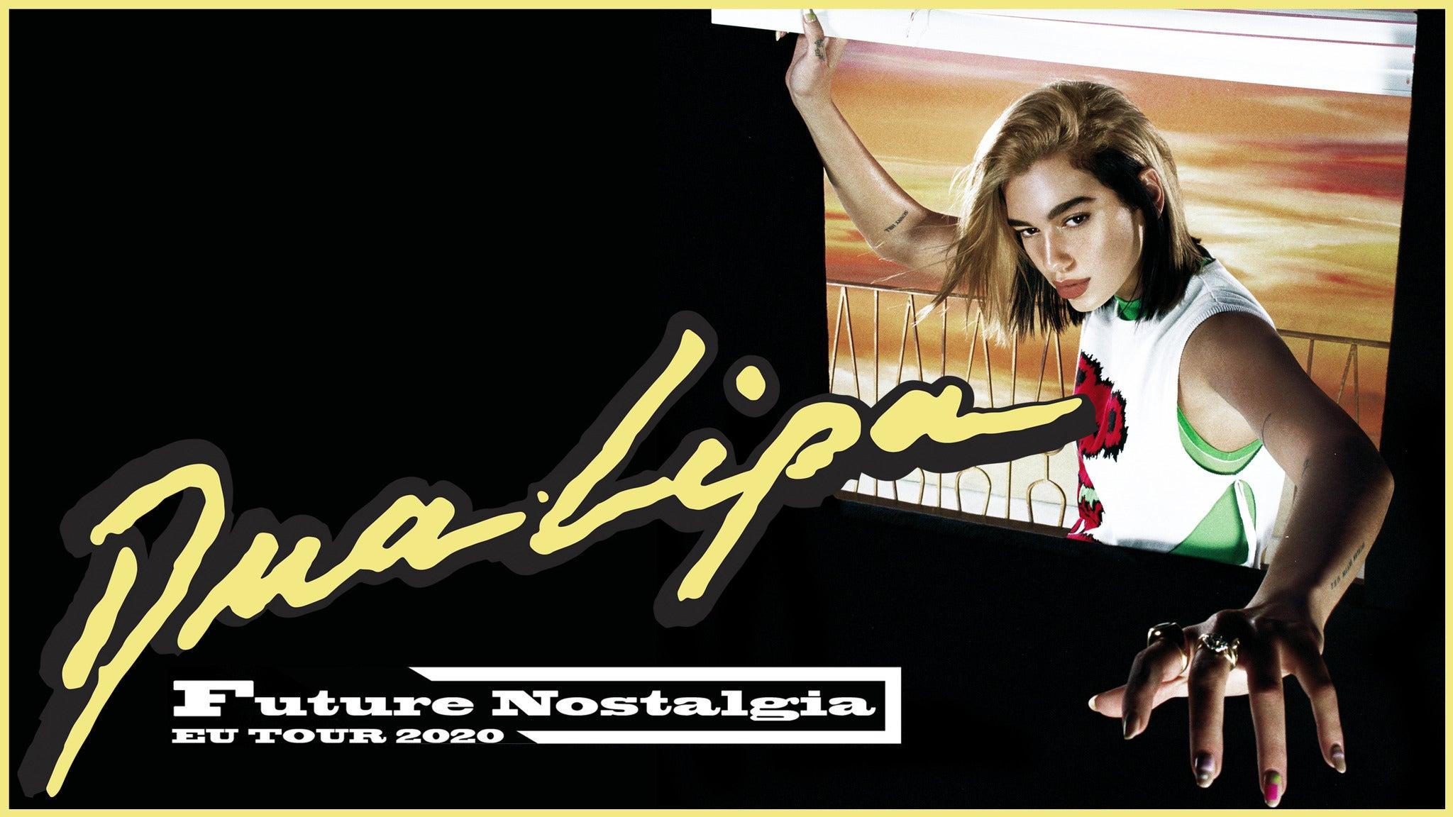 tickets dua lipa future nostalgia tour platinum freitag 15 oktober 2021 21 00 116 00 161 00
