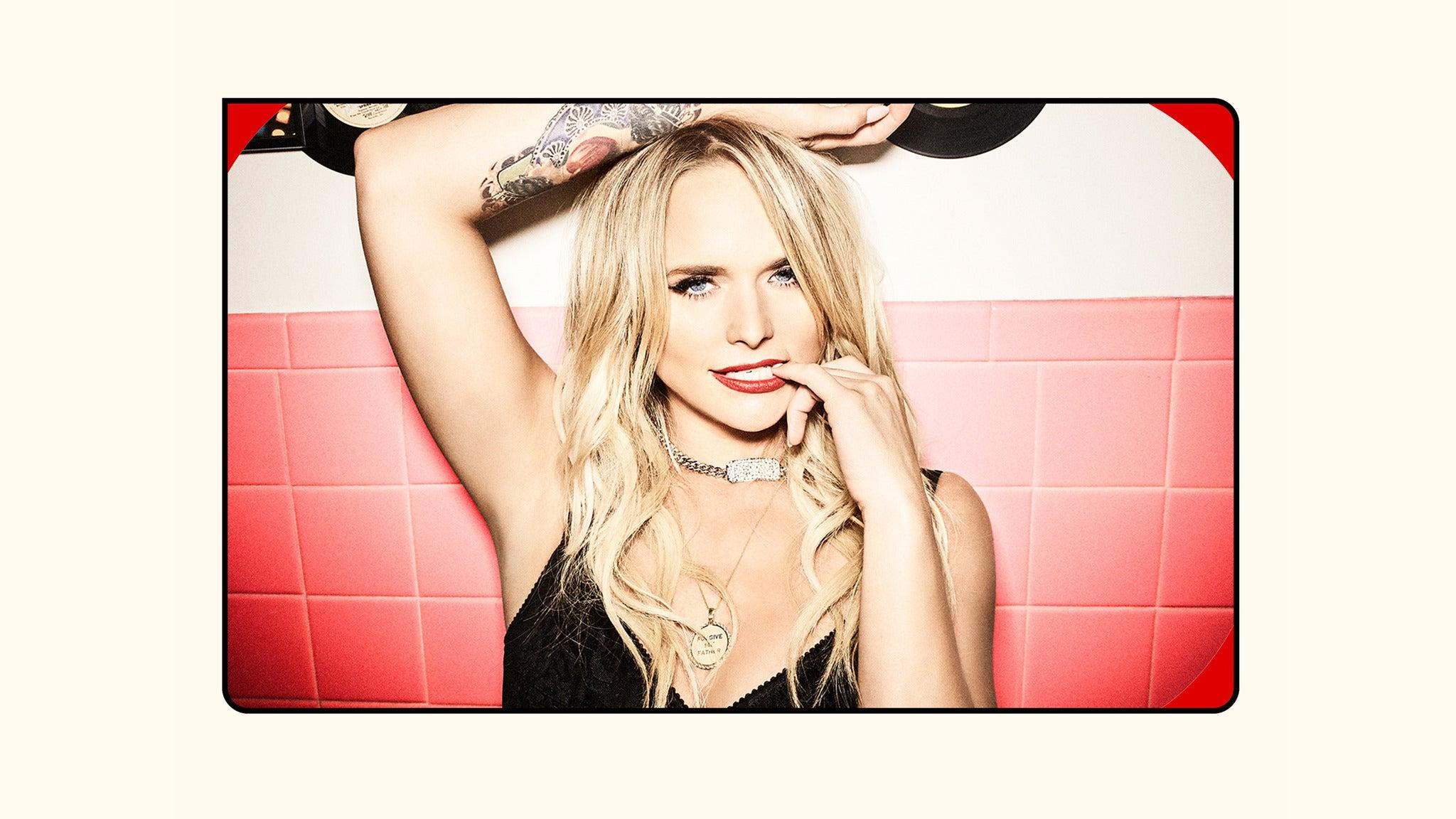 presale password for Miranda Lambert tickets in Laughlin - NV (Laughlin Event Center)