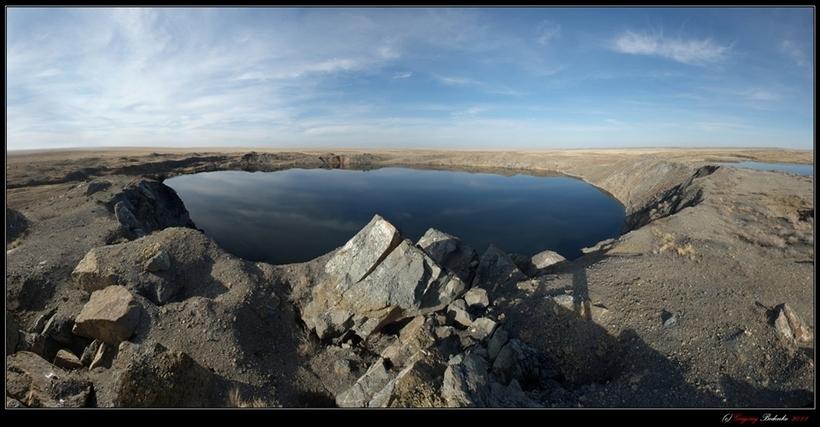 Атомное озеро Чаган в Казахстане: отголоски ядерных испытаний СССР