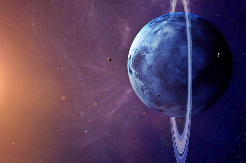 Загадка Урана: почему планета «лежит на боку»