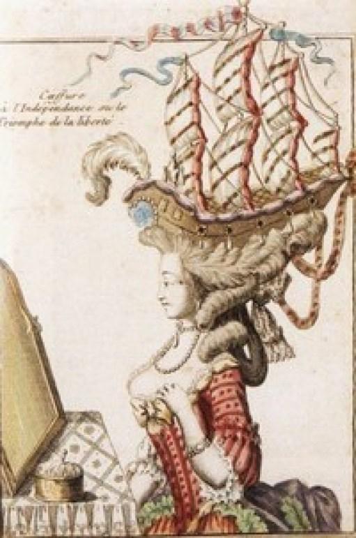 Как знаменитый парикмахер королевы Марии-Антуанетты придумал высокие прически