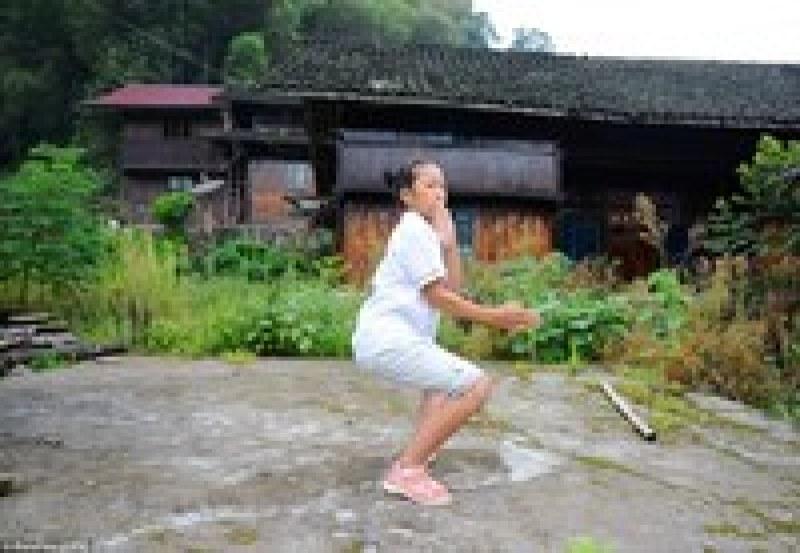 Глухая деревушка в Китае, где все жители знают приемы кунг-фу