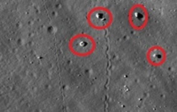 Ученые выяснили, почему камни перемещаются по поверхности Луны
