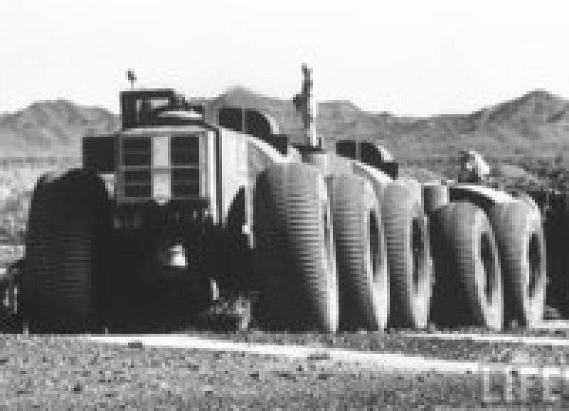 Удивительные старые фото TC-497 — самого длинного внедорожника в мире
