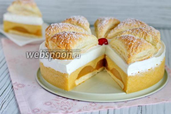 Торт 171Яблочное суфле с мармеладом187 рецепт с фото как