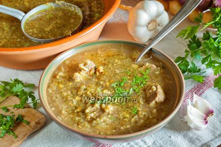 Суп харчо особый с помидорами рецепт с фото на Webspoonru