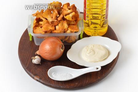 Жареные лисички со сметаной рецепт с фото, как приготовить ...