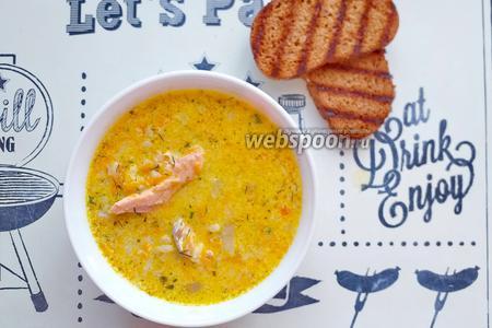 Суп с форелью и картофельными клёцками по итальянски ...