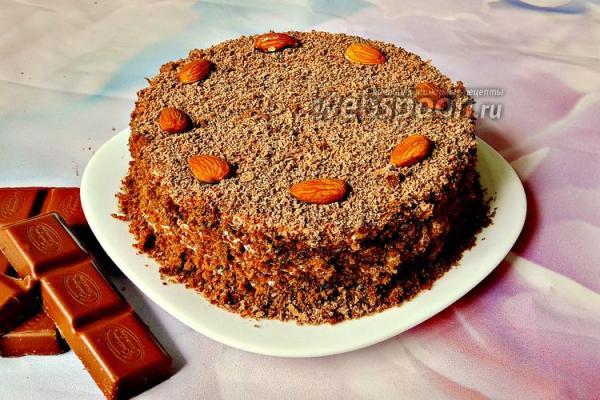 Торт «Вечная любовь» рецепт с фото, как приготовить на ...