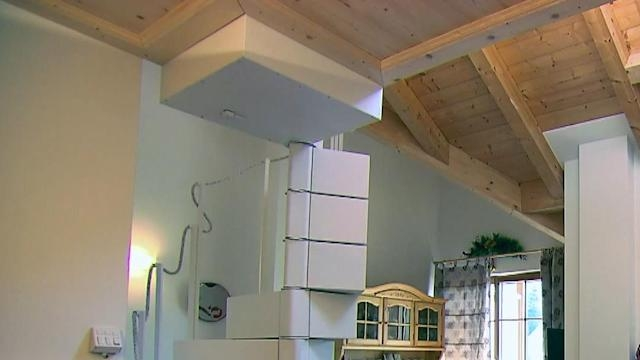 This Giant Chest Of Drawers Unfolds Into A Secret Staircase | Spiral Staircase Into Loft | Attic Stairs | Ladder | Bedroom | Space Saver | Staircase Ideas