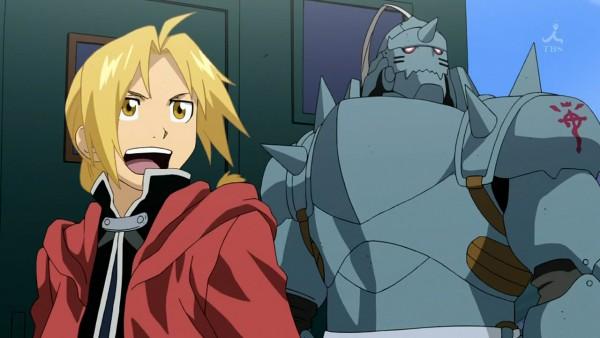 Tags: Anime, Fullmetal Alchemist, Screenshot, Edward Elric, Alphonse Elric
