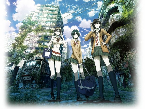 Tags: Anime, Official Art, GoHands, Coppelion, Naruse Ibara