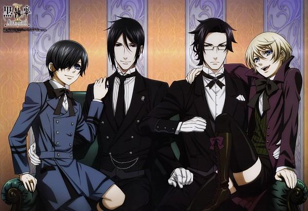 Tags: Anime, Kuroshitsuji, Square Enix, Scan, Sebastian Michaelis
