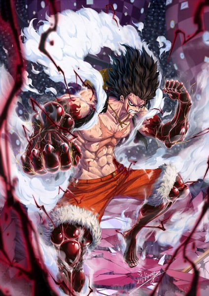 Tons of awesome luffy snake man wallpapers to download for free. Gear Fourth Snakeman Gear Fourth Technique Zerochan Anime Image Board
