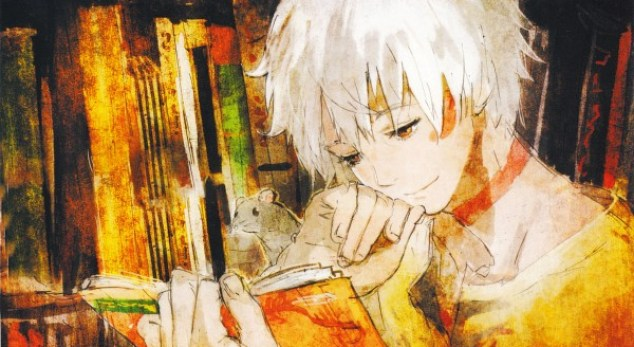 Tags: Anime, toi8, No.6, No.6 Toi8 Design & ArtWorks, Shion (No.6), Facebook Cover, Official Art, Scan, DVD (Source), Wallpaper