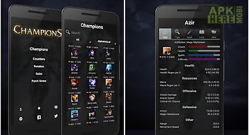 Urban legends for Android free download at Apk Here store   ApkHere Mobi Champions of league of legends