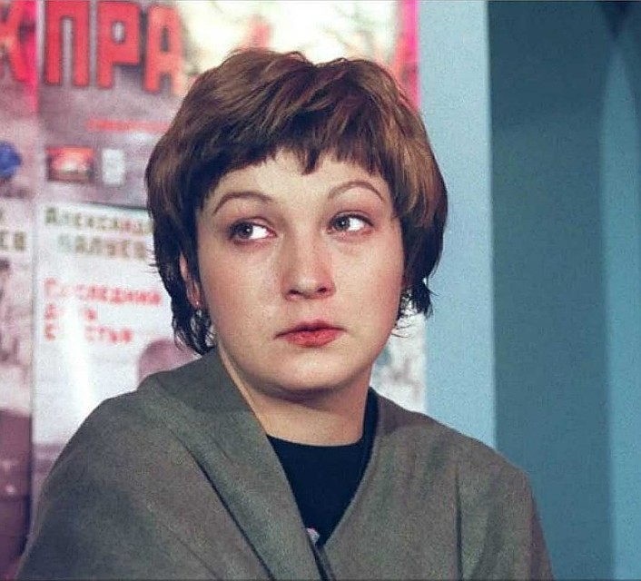 Efremov's fourth wife, actress Ksenia Kachalina.  Photo: Konstantin KRYMSKIY / TASS