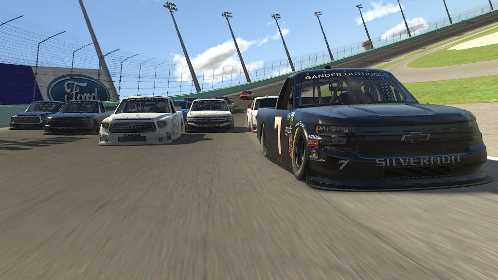 NASCAR Pickup Cup At Daytona Oval
