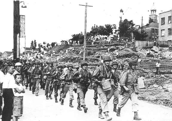 Einmarsch der US-Armee in Südkorea
