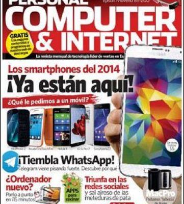 Personal Computer & Internet N° 137 – Los Smartphones del 2014 ¡Ya estan aquí! – Abril 2014