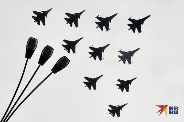 Самолеты над Москвой: Самые яркие фото репетиции ...