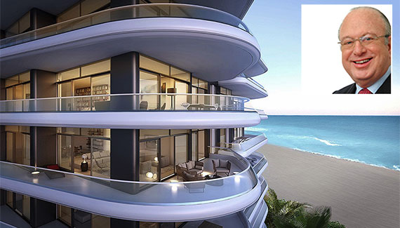 Rendering of Faena House (Inset: Paul L. Cejas)