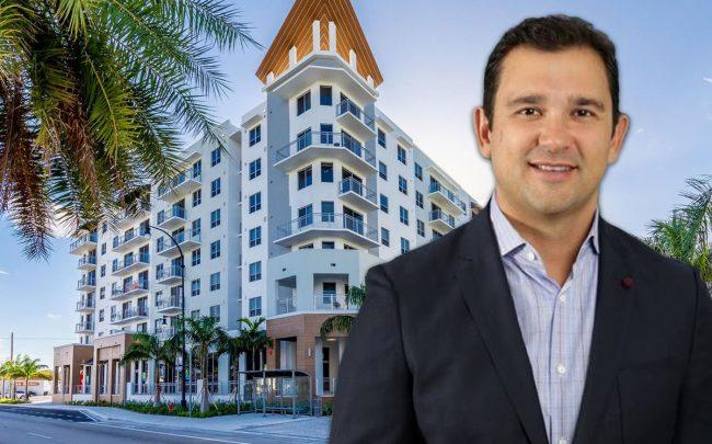 Integra Investments's Victor Ballestas and  Artsquare at Hallandale Beach