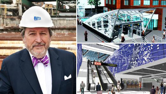 Michael Horodniceanu and renderings of the Second Avenue subway