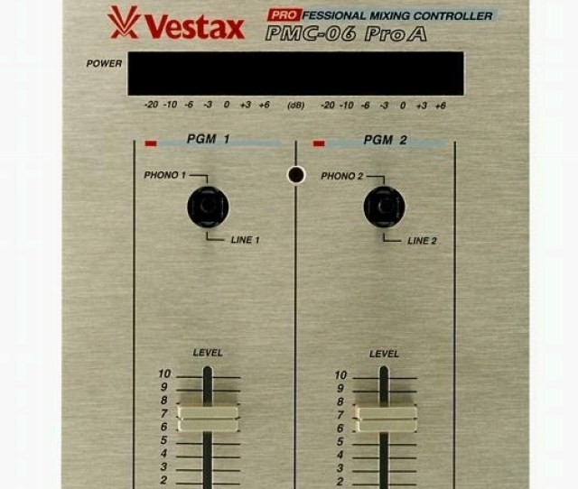 Vestax 06s Similarly There Are A Few Types Of 06 Which Are Essentially An 05 In A Slimline Form However The 06s Differences Boil Down To Colour And