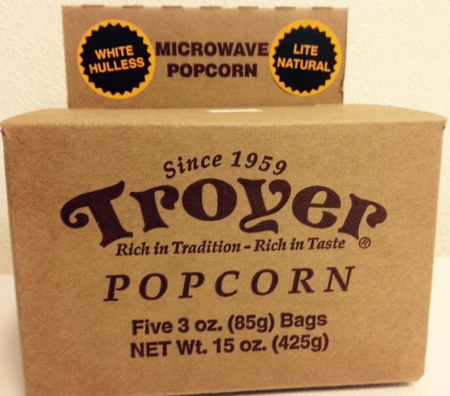 white hulless microwave popcorn