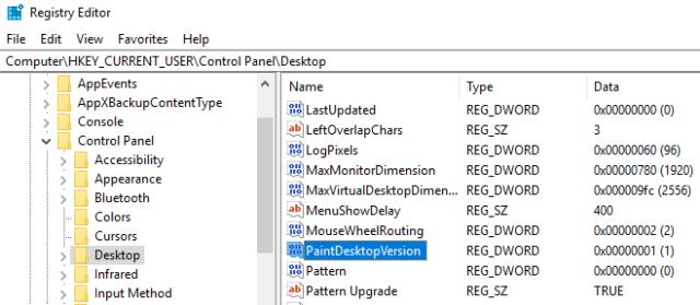 Windows 10 Registry Hacks show windows 10 ver