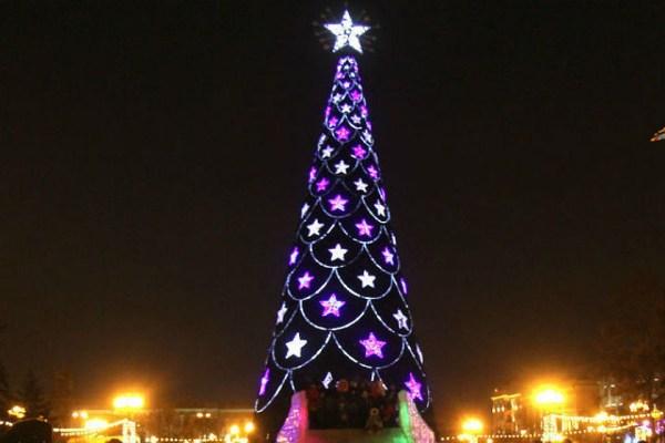Новогодняя елка в Иркутске 2017: установка начнется 14 ...