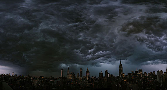 Sorms over New York