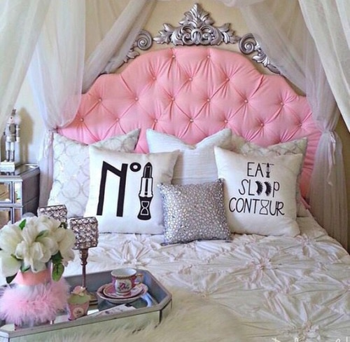 room goals room decor pink and girly