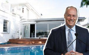 Miami Beach Mayor Dan Gelber and Natalie Nichols home at 1531 Stillwater Drive (Credit: Getty Images)