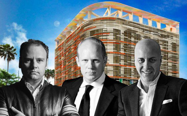 Rendering of One Eleven Wynwood Hotel by Sonder and Eduardo Vargas, Andres Hogg and Andres Klein