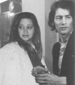 Zaha Hadid and Rem Koolhaas in the 1970s