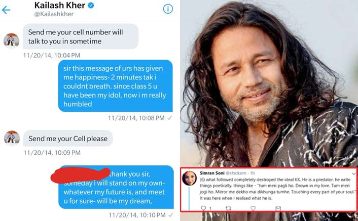 """Kailash Kher Said To Me Tum Meri Pagli Ho, Meri Jogi Ho"": A Fan Comes Up With Another #MeToo Story"