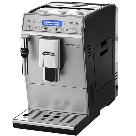 Espressor Automat De'Longhi ETAM 29.620 SB, 1450W, 15 bar, 1.3 l, Display Lcd, Argintiu