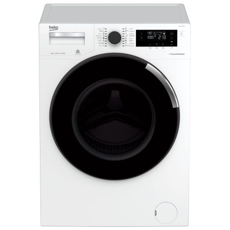Masina de spalat rufe Beko WTV9744XW0, Premium Line, 9 kg, 1400 RPM, Motor ProSmart Inverter, Optisense, Clasa A+++, 60 cm, Alb