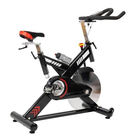 Bicicleta spinning TECHFIT SBK400, Greutate utilizator: 150 kg, Sistem Inertie volanta: 24 kg