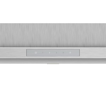 Hota incorporabila decorativa Bosch DWB97LM50, Putere de absorbtie 697 mc/h, TouchControl, Motor EcoSilence Drive, Iluminare LED, Clasa A, 90 cm, Inox