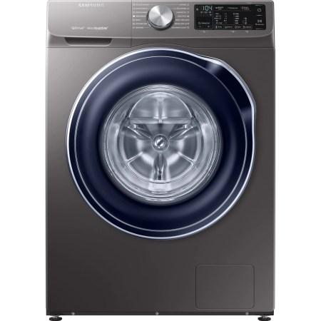 Masina de spalat rufe Samsung WW90M644OBX/LE, Quick Drive, Q-Drum, Q-rator, Eco Bubble, Smart Control, 9kg, 1400 rpm, 60 cm, Clasa A+++, Inox
